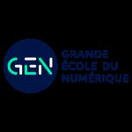 Logo grandes ecoles numérique
